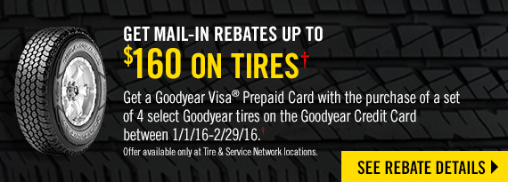 Goodyear Tire Rebates